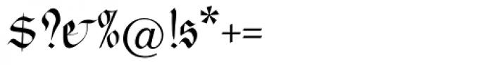 Feder Fraktur EF Regular Dfr Font OTHER CHARS