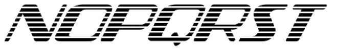 Federal Streamliner Font UPPERCASE