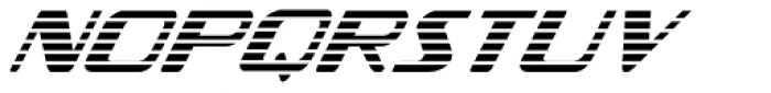Federal Streamliner Font LOWERCASE