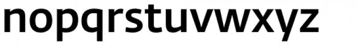 Fedra Sans Alt Pro Medium Font LOWERCASE