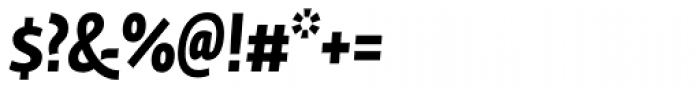 Fedra Sans Cond Pro Bold Italic Font OTHER CHARS
