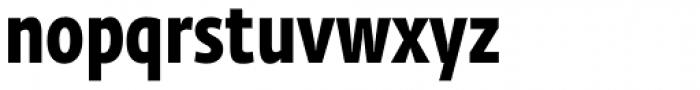 Fedra Sans Cond Pro Bold Font LOWERCASE