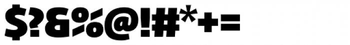 Fedra Sans Dis Pro Heavy Font OTHER CHARS