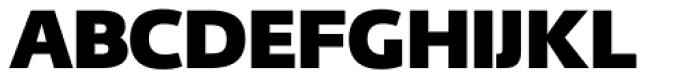 Fedra Sans Dis Pro Heavy Font UPPERCASE
