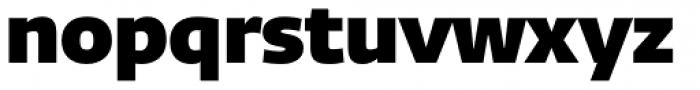 Fedra Sans Dis Pro Heavy Font LOWERCASE