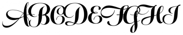 Feel Script Black Font UPPERCASE