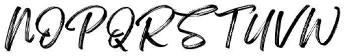 Feeling Passionate Regular Font UPPERCASE