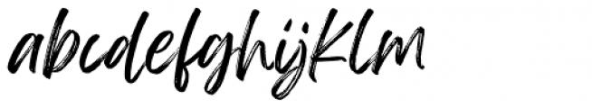Feeling Passionate Regular Font LOWERCASE