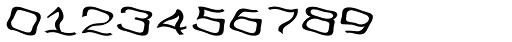 FeggoliteDancing Italic Font OTHER CHARS
