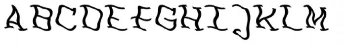 FeggoliteDancing Italic Font UPPERCASE