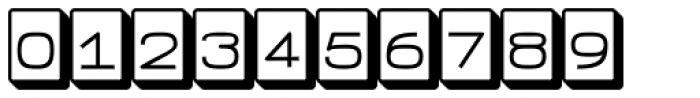 FeggoliteKeyed Font OTHER CHARS