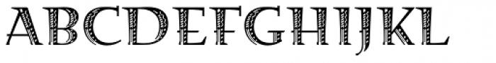 Fehlian Precious Font UPPERCASE