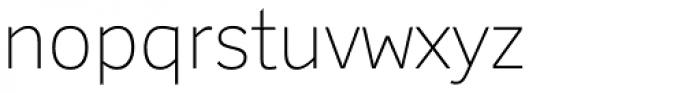 Felbridge Std Thin Font LOWERCASE