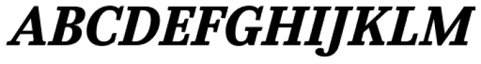 Felice Black Italic Font UPPERCASE
