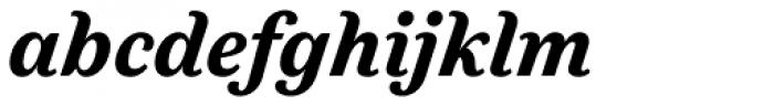Felice Black Italic Font LOWERCASE