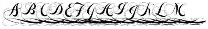 Felicita Initial 1 Font UPPERCASE