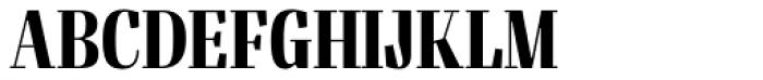 Felis Bold Condensed Font UPPERCASE