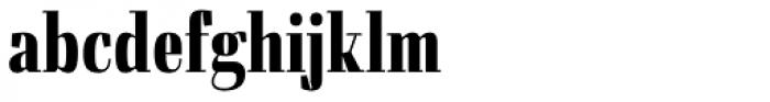 Felis Bold Condensed Font LOWERCASE