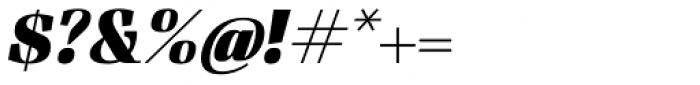 Felis Italic Black Font OTHER CHARS