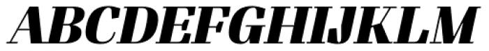 Felis Italic Black Font UPPERCASE