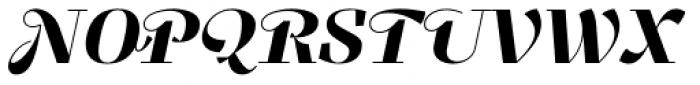 Felis Script Black Font UPPERCASE
