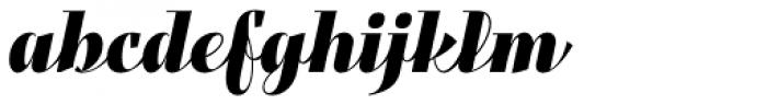 Felis Script Black Font LOWERCASE
