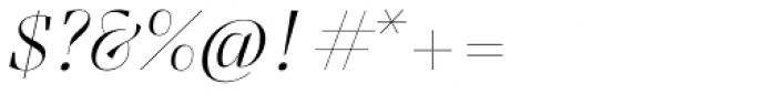 Felis Script Thin Font OTHER CHARS