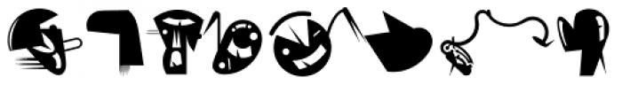 FellaParts One Font LOWERCASE