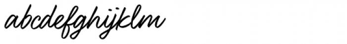 Felt That Font LOWERCASE