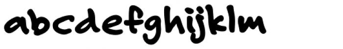 Felt Tip Roman Heavy Font LOWERCASE