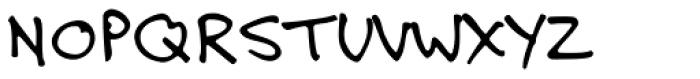 Felt Tip Roman Font UPPERCASE