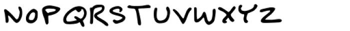 Felt Tip Senior Font UPPERCASE
