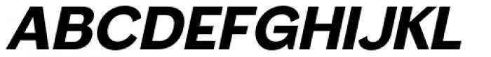 Femi Oblique SRF Font LOWERCASE