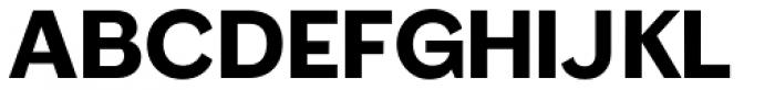 Femi SRF Font UPPERCASE