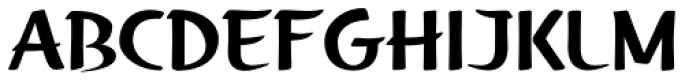 Fengo Font UPPERCASE