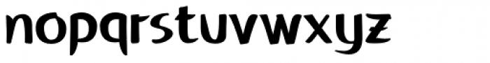 Fengo Font LOWERCASE