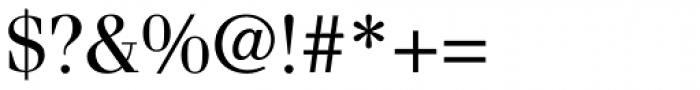 Fenice Std Regular Font OTHER CHARS