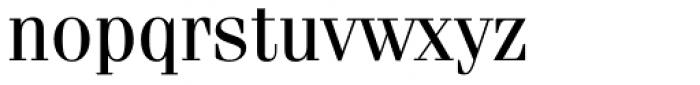 Fenice Std Regular Font LOWERCASE