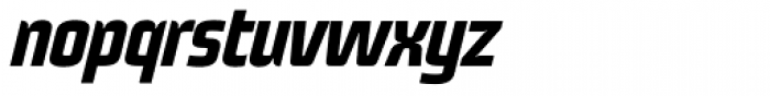 Fenix 22 Bold Italic Font LOWERCASE