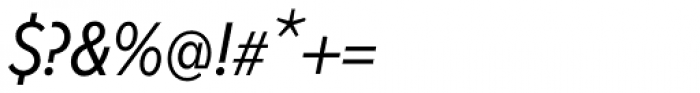 Fenomen Sans CN Book Italic Font OTHER CHARS