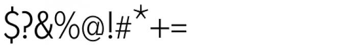 Fenomen Sans CN Light Font OTHER CHARS