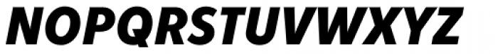 Fenomen Sans SCN Bold Italic Font UPPERCASE