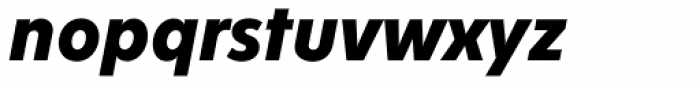 Fenomen Sans SCN Bold Italic Font LOWERCASE