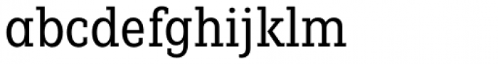 Fenomen Slab CN Book Font LOWERCASE