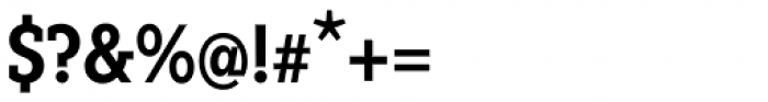 Fenomen Slab CN SemiBold Font OTHER CHARS
