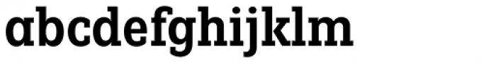 Fenomen Slab CN SemiBold Font LOWERCASE