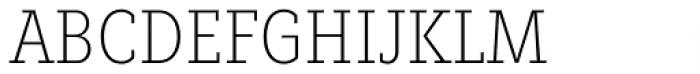 Fenomen Slab CN Thin Font UPPERCASE