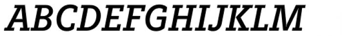 Fenomen Slab SCN Italic Font UPPERCASE