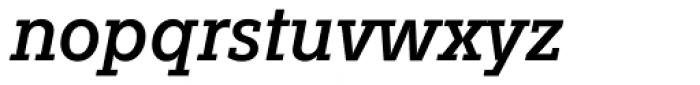 Fenomen Slab SCN Italic Font LOWERCASE