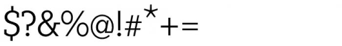 Fenomen Slab SCN Light Font OTHER CHARS